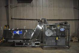 NEW ENGLAND MACHINERY BOTTLE ORIENTER, MODEL: NEHE-60, W/ HOPPER ELEVATOR, MODEL: H/E-100
