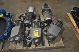 (5X) LIGHTNIN MIXER, MODEL: EKXJ-500, ELECTRIC CLAMP ON MIXER, W/AGITATOR, 5-HP