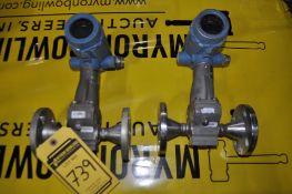(2) ROSEMOUNT VORTEX FLOW TUBES, 316 STAINLESS STEEL, SIZE: 1'', MODEL: 8800 CR010SA1N1DM504
