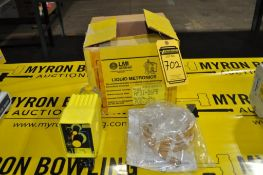 MILTON-ROY LIQUID METRONICS SERIES A7 LIQUID METERING PUMP, MODEL: AP51-86PB, MAX OUTPUT GPD: 24, NE