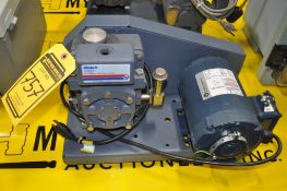 WELCH DUOSEAL VACUUM PUMP, MODEL: 1400, SINGLE PHASE