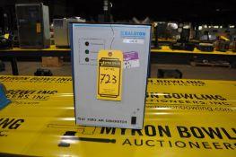 BALSTON ZERO AIR GENERATOR, MODEL: 75-87, MAX INLET PRESSURE: 125 PSIG, 120 VAC