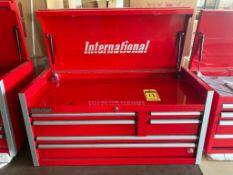 (NEW) INTERNATIONAL 6-DRAWER PROFESSIONAL SERIES TOOL CHEST, 41'' X 18''