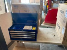 (5X) (NEW) EVERCRAFT 4-DRAWER TOP TOOL CHESTS, 26'' X 12''