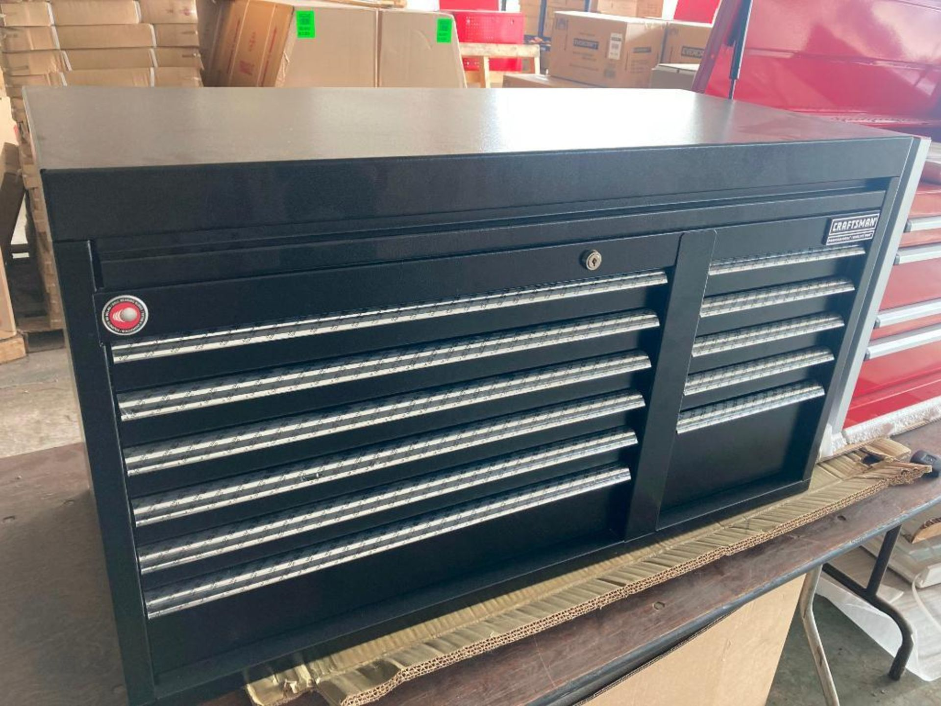 (NEW) CRAFTSMAN PROFESSIONAL SERIES 11-DRAWER; TOP TOOL CHEST; 40.5'' X 18'' - Image 2 of 2