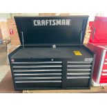 (NEW) CRAFTSMAN PROFESSIONAL SERIES 11-DRAWER; TOP TOOL CHEST; 40.5'' X 18''