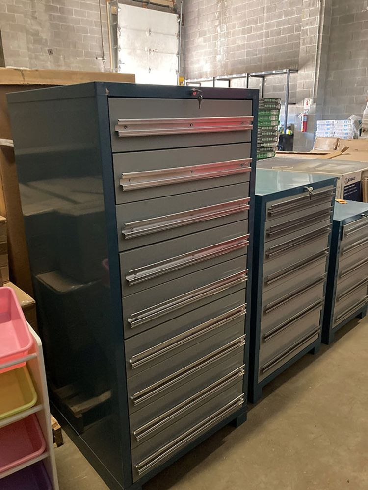Lincoln Recycling - Over $3,000,000 Retail Cost of New Industrial Storage Systems - TIMED, ONLINE ONLY