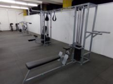 WEIGHT LIFTING MACHINE W/ MULTIPLE FUNCTIONS