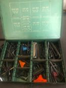 ASSORTED SIZE ALLEN WRENCHES