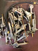 PNEUMATIC GUNS