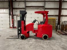 FLEXI VERY NARROW AISLE 3,000 LB. CAPACITY FORKLIFT, MODEL G4, S/N NA02610 Z48, WITH 48-VOLT BATTERY