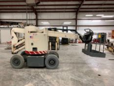 TEREX 30' ARTICULATING BOOM LIFT, MODEL MARKLIFT CH30KBN, S/N 992/0/66, ELECTRIC, HOURS, RATED WORK