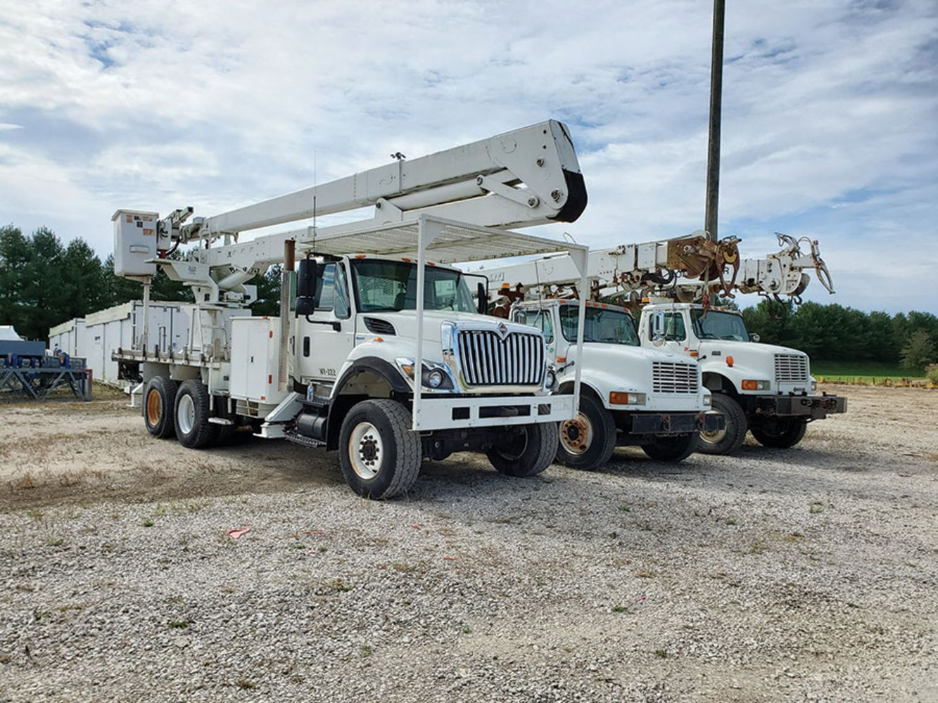 CW Electric Inc. - DAY 1 OF 2 - Huge Amount of CATERPILLAR Repair Parts, Utility Trucks & More!