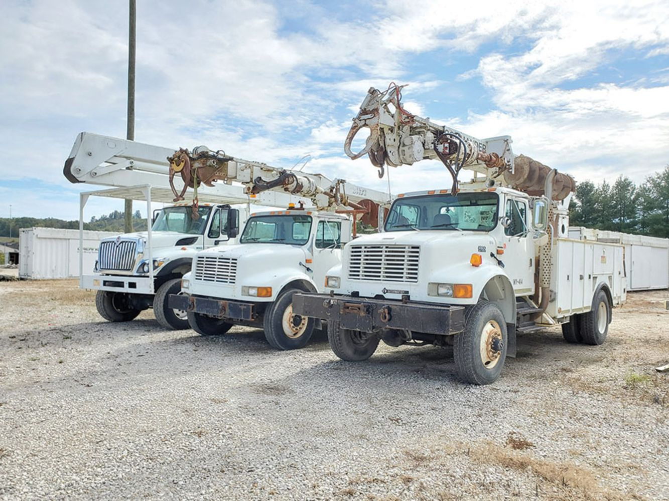 CW Electric Inc. - DAY 2 OF 2 - Huge Amount of CATERPILLAR Repair Parts, Utility Trucks & More!