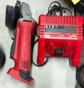 MILWAUKEE CORDLESS 4-1/2'' CUT-OFF GRINDER W/ CHARGER