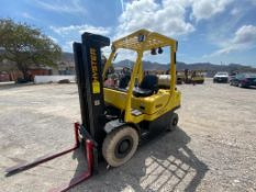 2011 HYSTER FORKLIFT, MODEL H50FT, S/N L177V07074J