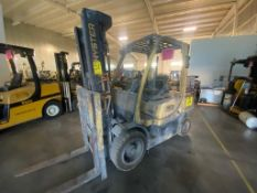 2014 HYSTER FORKLIFT, MODEL H70FT, S/N L177V15578M