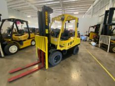 2014 HYSTER FORKLIFT, MODEL H70FT, S/N N177V03117M