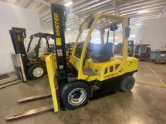 2013 HYSTER FORKLIFT, MODEL H70FT, S/N L177V12800L