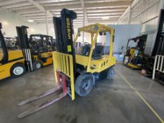 2014 HYSTER FORKLIFT, MODEL H70FT, S/N N177V03412M