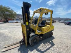 2014 HYSTER FORKLIFT, MODEL H60FT, S/N N177V02111M
