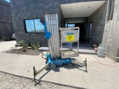 2010 GENIE 9' ELECTRIC LIFTING PLATFORM, MODEL AWP-30S, S/N AWP10-67666