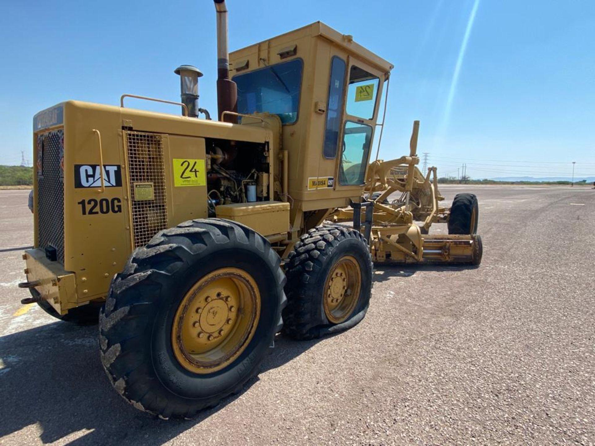 Caterpillar 120G Motor Grader, Serial number 87V09646, Motor number PQ883-2/07Z28983 - Image 18 of 61