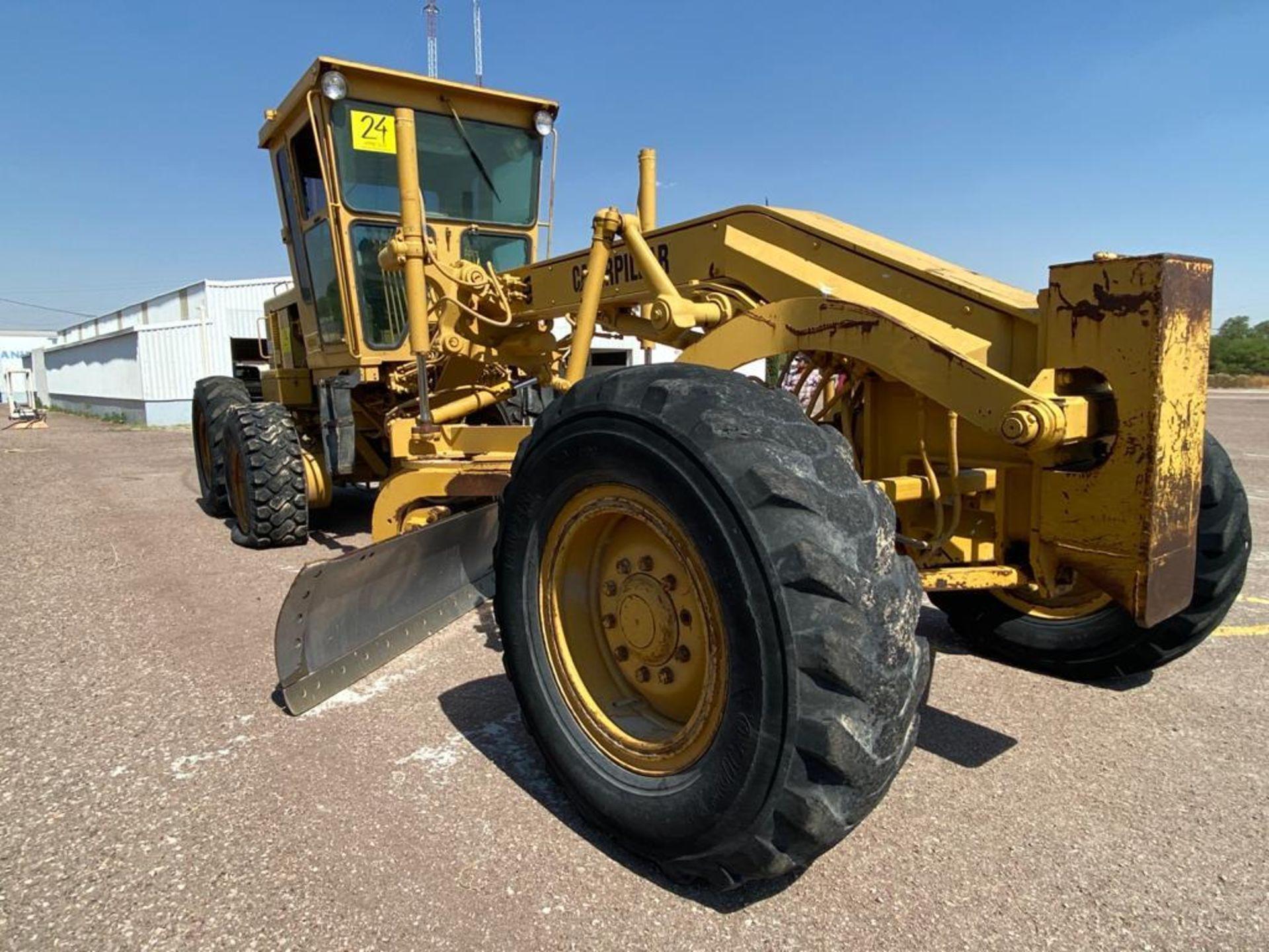 Caterpillar 120G Motor Grader, Serial number 87V09646, Motor number PQ883-2/07Z28983