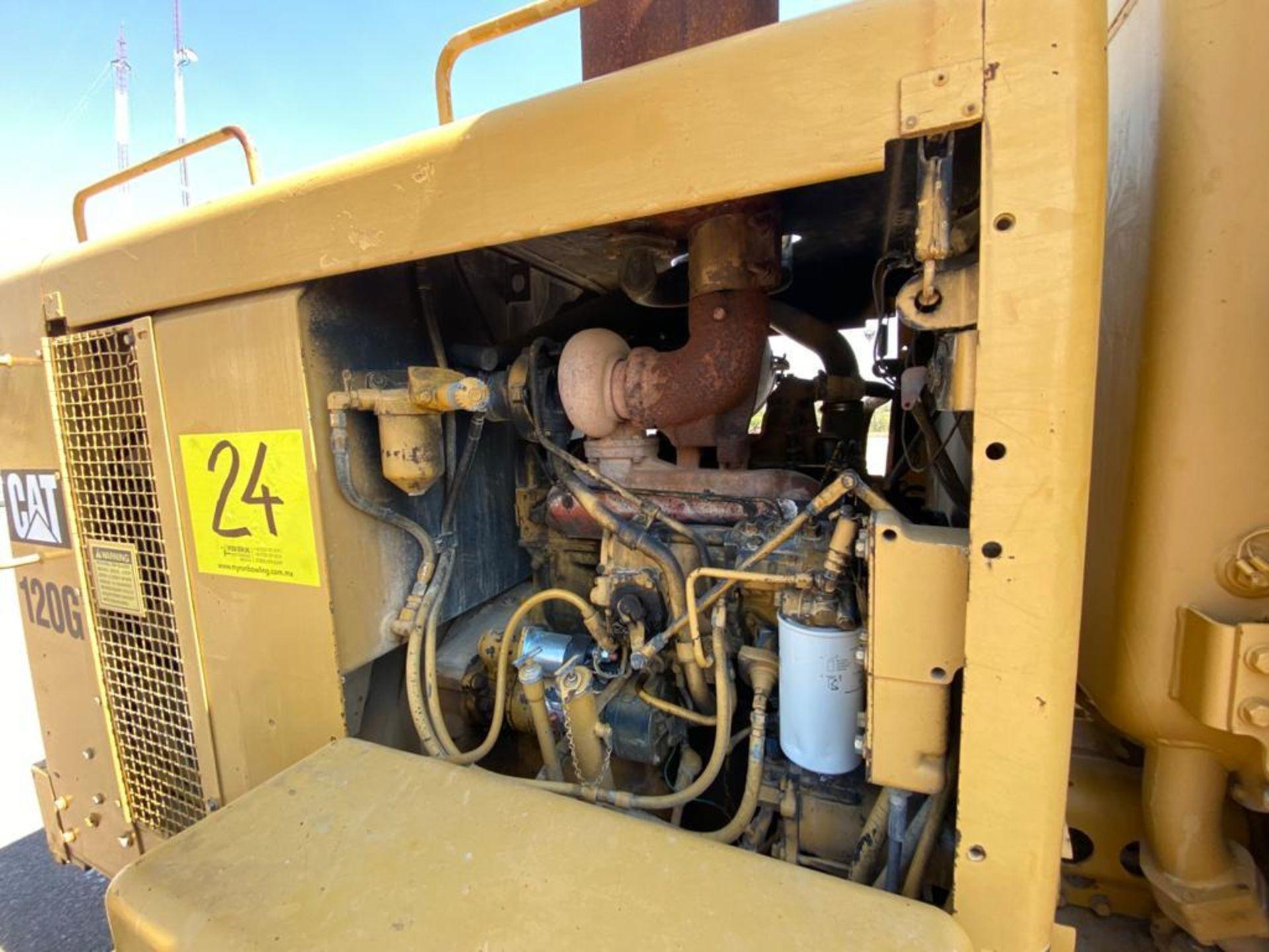 Caterpillar 120G Motor Grader, Serial number 87V09646, Motor number PQ883-2/07Z28983 - Image 53 of 61