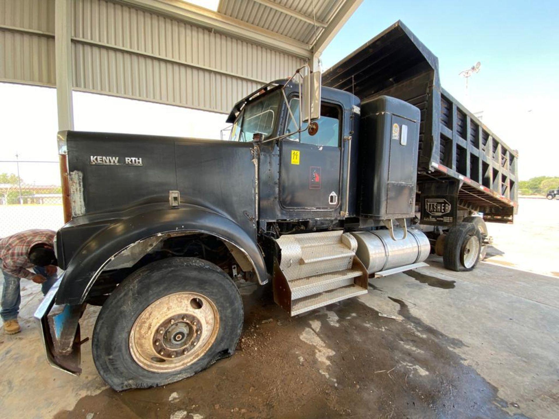 1983 Kenworth Dump Truck, standard transmission of 10 speeds, with Cummins motor - Image 49 of 68