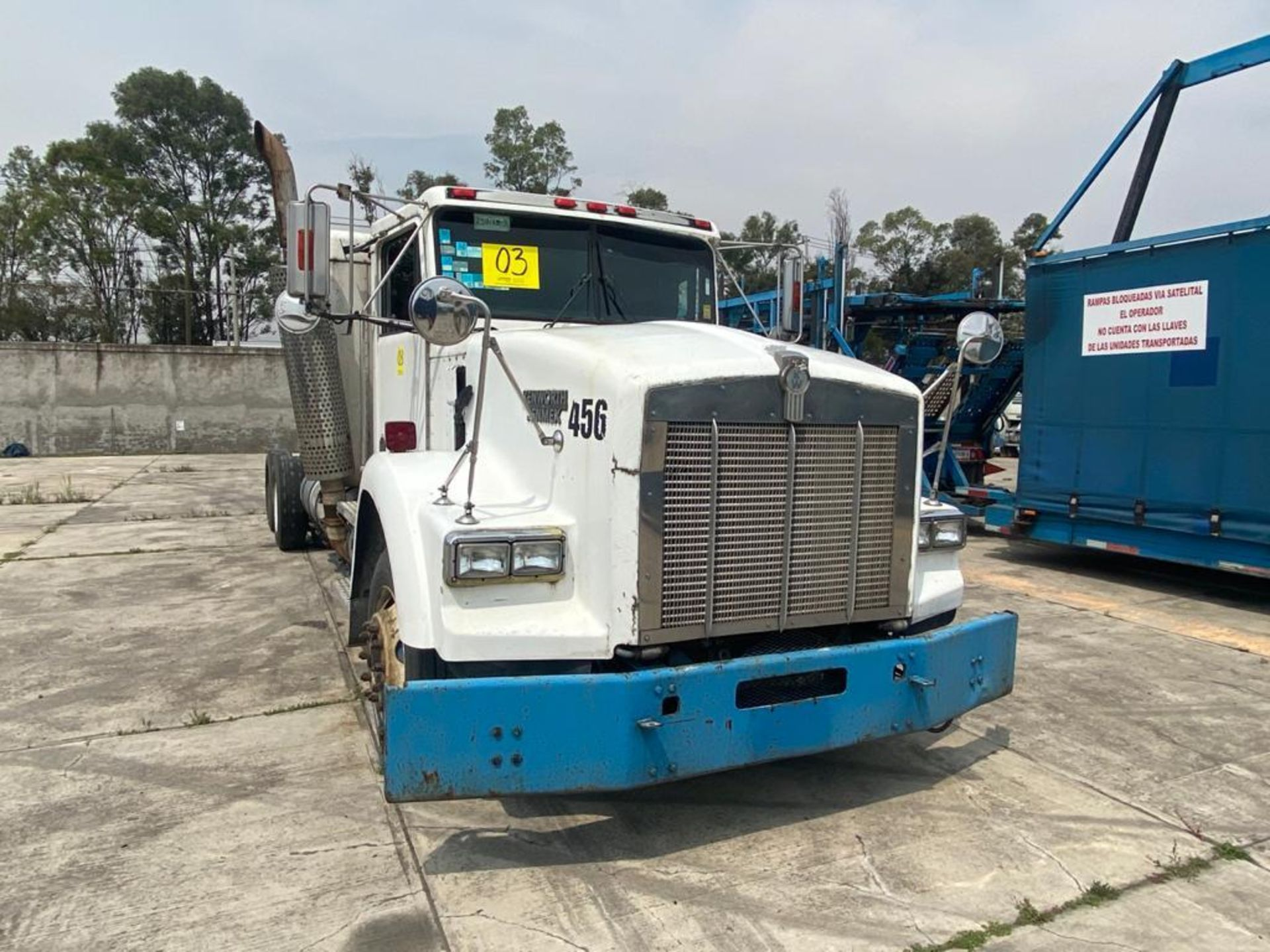 1999 Kenworth Sleeper truck tractor, standard transmission of 18 speeds - Image 3 of 62