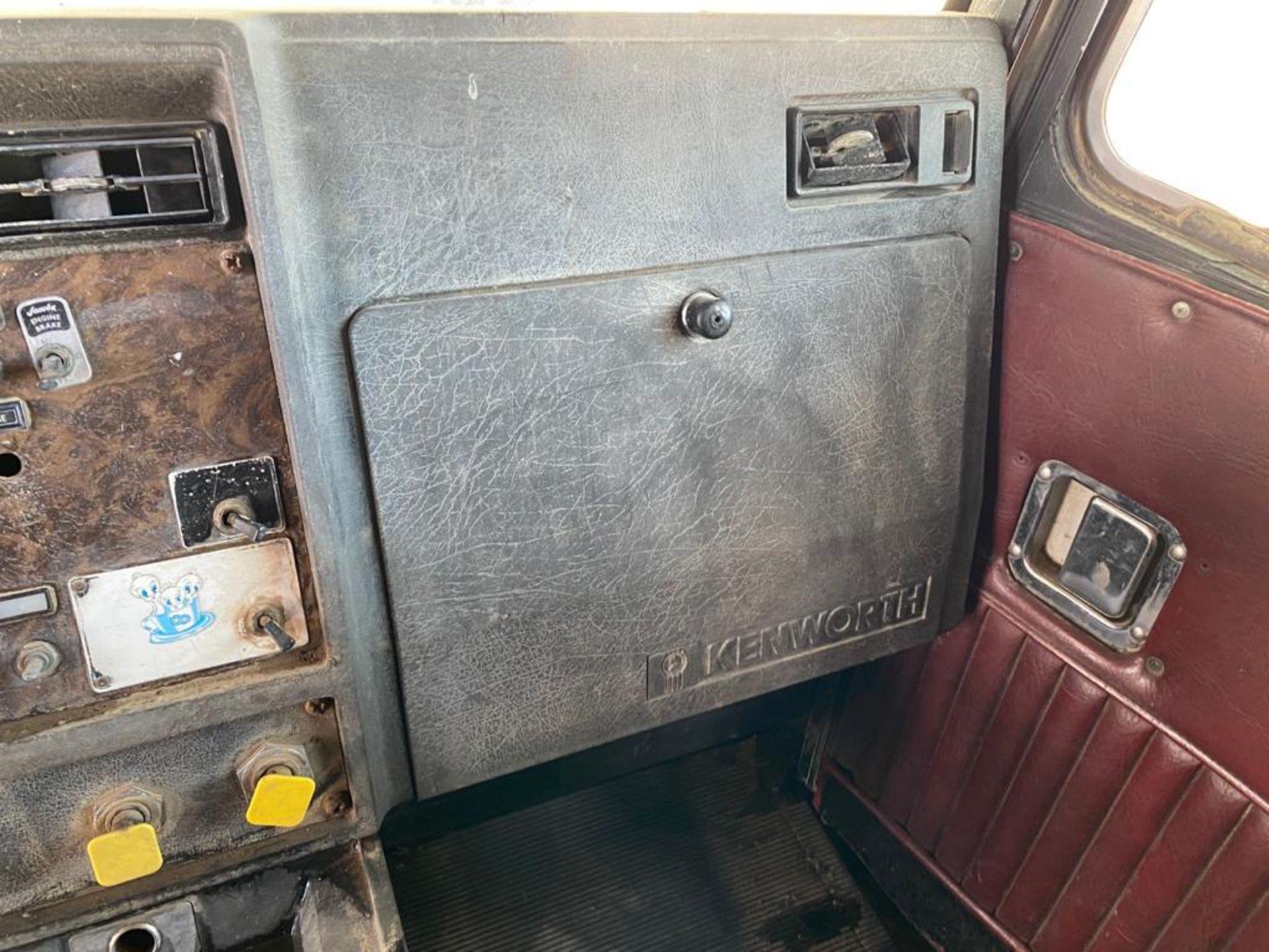 1983 Kenworth Dump Truck, standard transmission of 10 speeds, with Cummins motor - Image 24 of 68