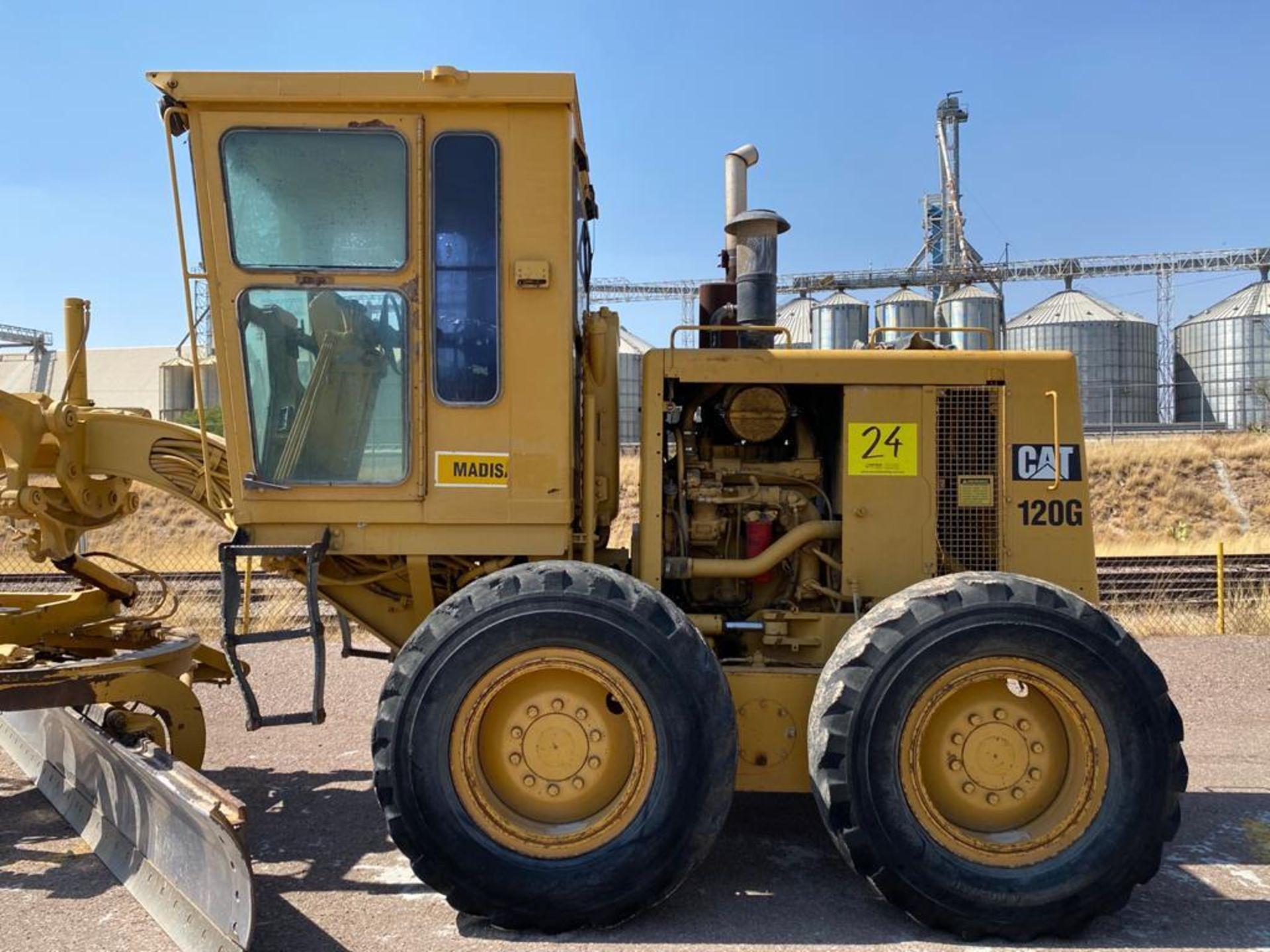 Caterpillar 120G Motor Grader, Serial number 87V09646, Motor number PQ883-2/07Z28983 - Image 12 of 61