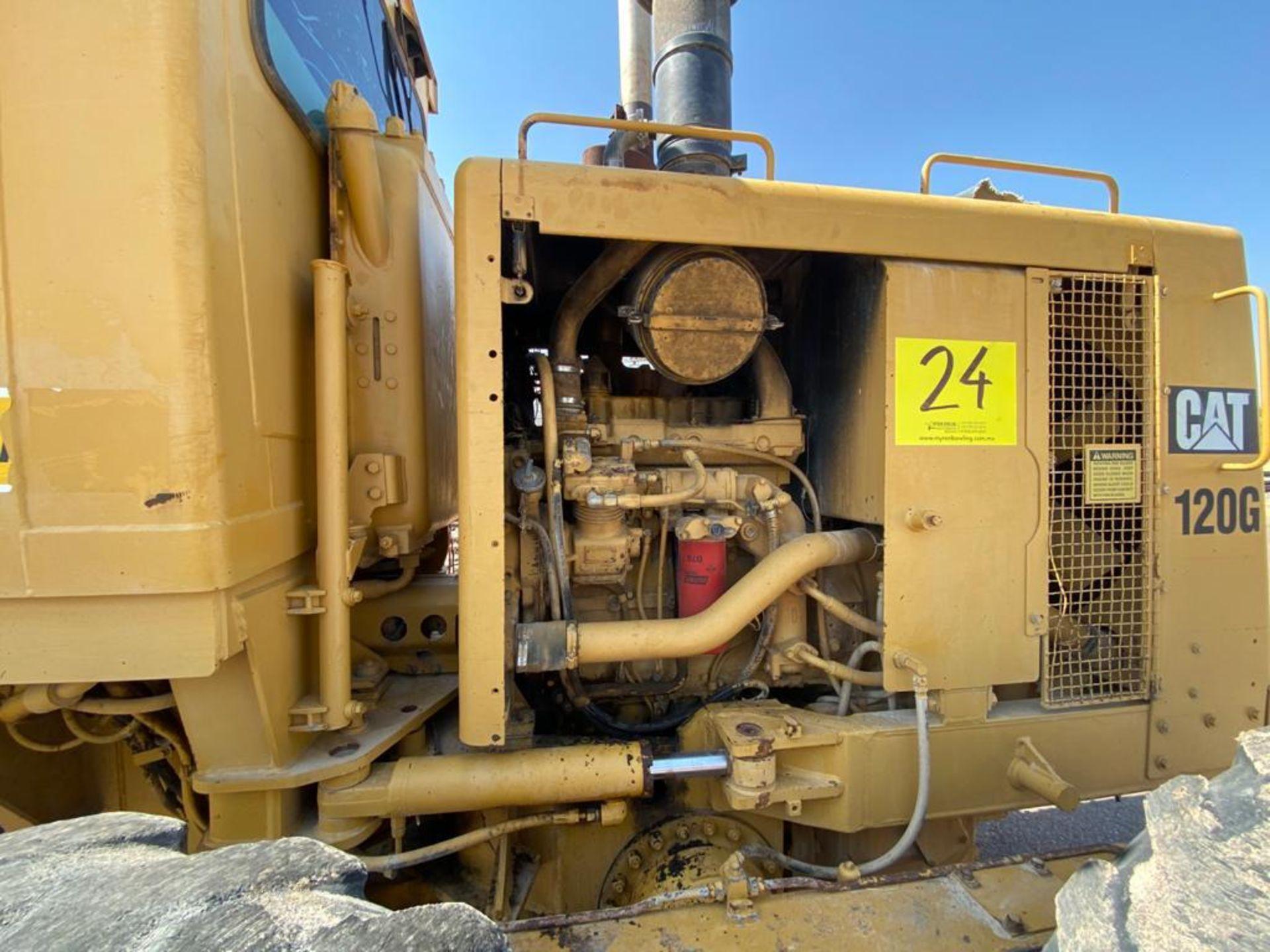 Caterpillar 120G Motor Grader, Serial number 87V09646, Motor number PQ883-2/07Z28983 - Image 50 of 61