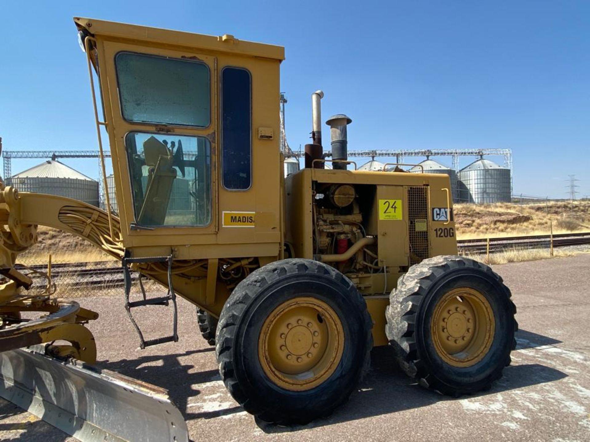 Caterpillar 120G Motor Grader, Serial number 87V09646, Motor number PQ883-2/07Z28983 - Image 13 of 61