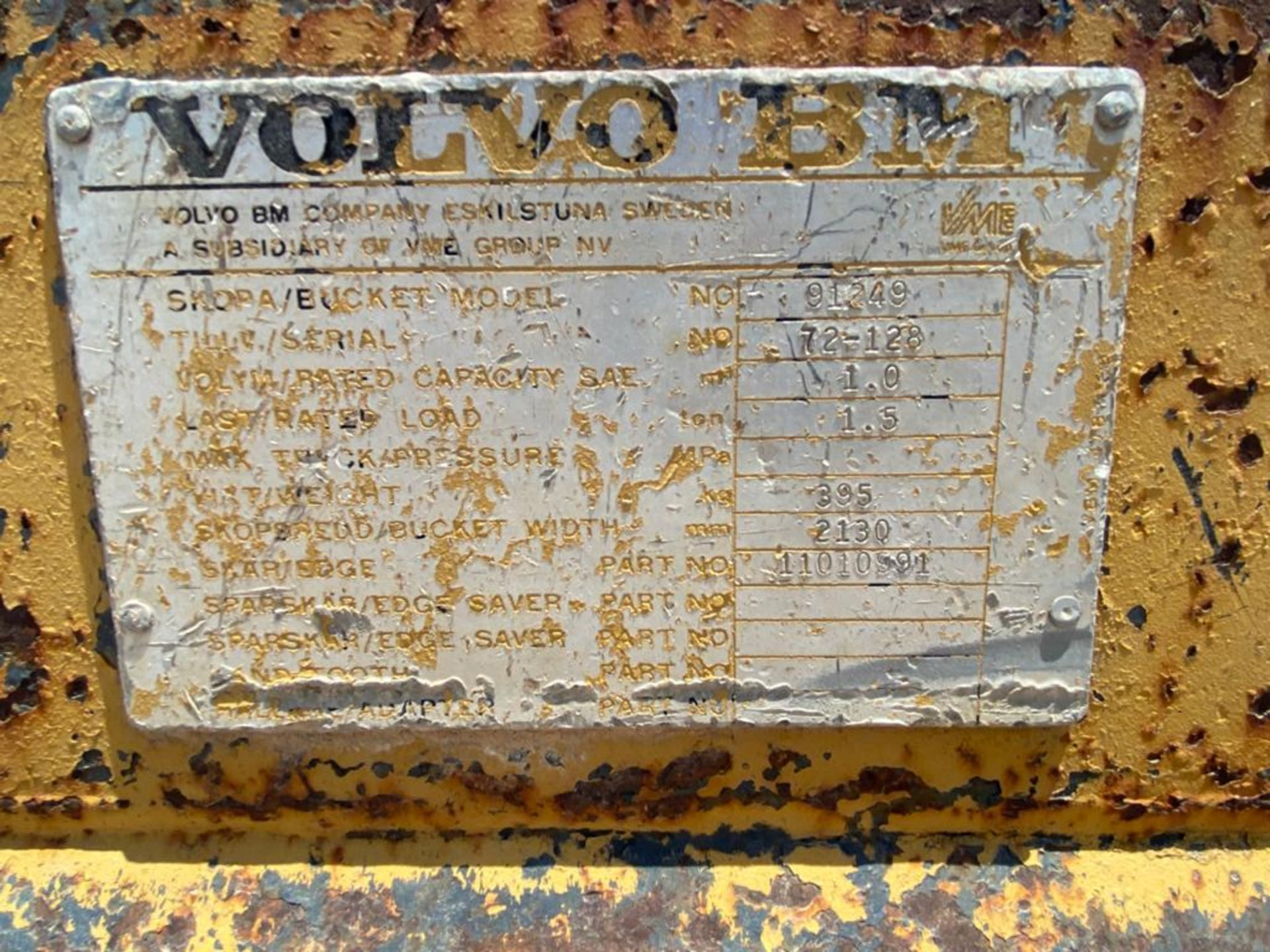 Volvo BM TYPE L 30 Michigan Front Loder, automatic transmission - Image 52 of 53