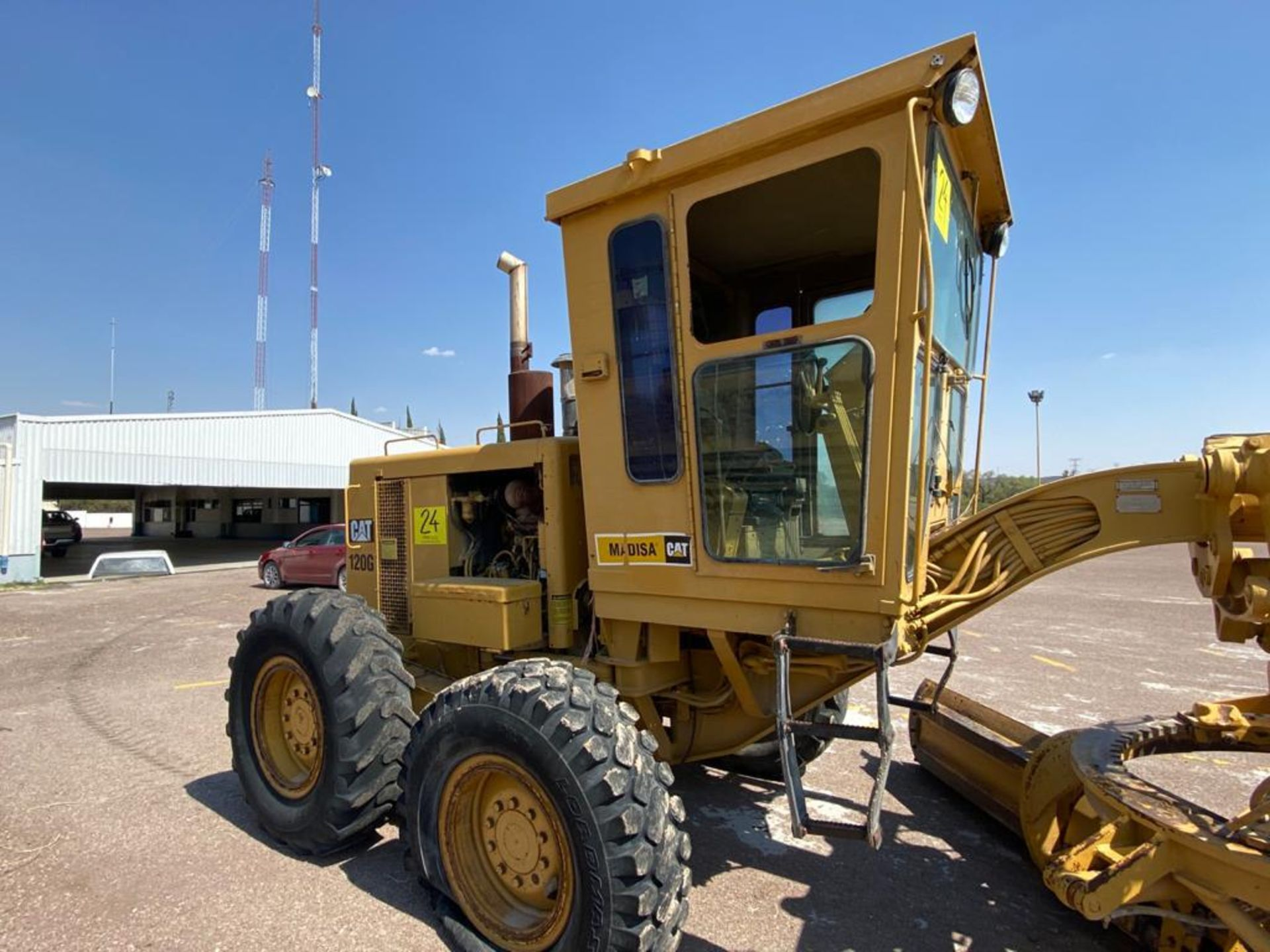 Caterpillar 120G Motor Grader, Serial number 87V09646, Motor number PQ883-2/07Z28983 - Image 20 of 61