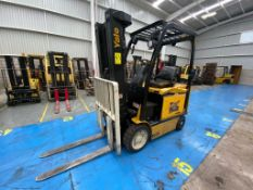 Yale Electric Forklift, Model ERC060VGN36TE088, S/N A968N17883R, Year 2017, 5800 lb capacity