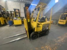 Hyster Electric Forklift, Model E50XN, S/N A268N20432P, Year 2016, 4700 lb capacity