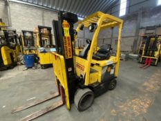 Hyster Electric Forklift, Model E50XN, S/N A268N20337P, Year 2016, 4700 lb capacity