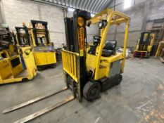 Hyster Electric Forklift, Model E50XN, S/N A268N20375P, Year 2016, 4700 lb capacity