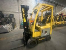 Hyster Electric Forklift, Model E50XN, S/N A268N20228P, Year 2016, 4700 lb capacity