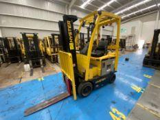 Hyster Forklift, Model E40XN, S/N A269N03540R, Year 2017, 3800 lb capacity,