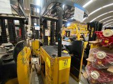 Yale Electric Forklift, Model NDR035EANL36TE157, S/N C861N03283J, Year 2011, 3500 lb capacity