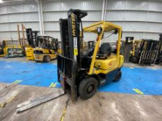 Hyster Forklift, Model H2.5XT, S/N D466R03287P, Year 2016, 5000 lb capacity