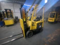 Hyster Electric Forklift, Model E50XN, S/N A268N20328P, Year 2016, 4700 lb capacity