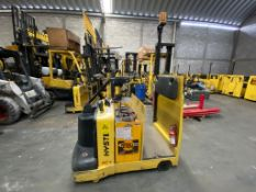 Hyster Electric Tow Tractor, Model T7ZAC, S/N C477N01917P, Year 2016, 2 tons capacity