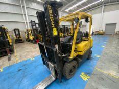 Hyster Forklift, Model H2.5XT, S/N D466R03113P, Year 2016, Nissan LP gas motor, 5000 lb capacity