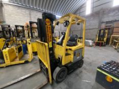 Hyster Electric Forklift, Model E50XN, S/N A268N20431P, Year 2016, 4700 lb capacity