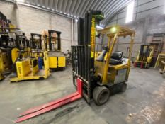 Hyster Electric Forklift, Model E50XN, S/N A268N20454P, Year 2016, 4750 lb capacity
